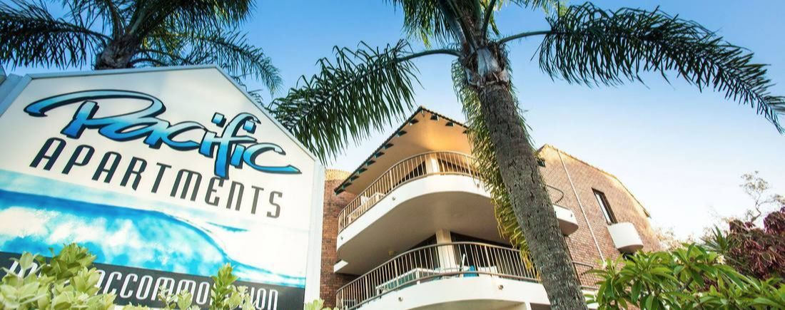 Pacific Apartments Byron Bay   Accommodation On The Beach   Pacific  Apartments   Holiday Accommodation